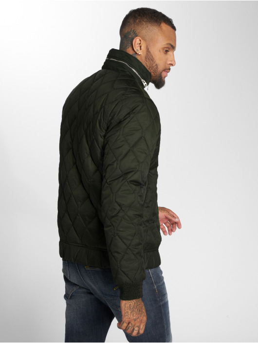 G-Star Winter Jacket Meefic Quilted Overshirt khaki