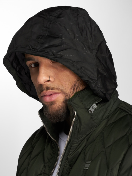 G-Star Winterjacke Meefic Quilted Overshirt khaki