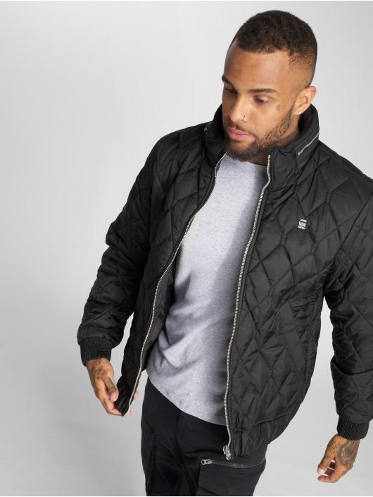G-Star winterjas Meefic Quilted Overshirt zwart