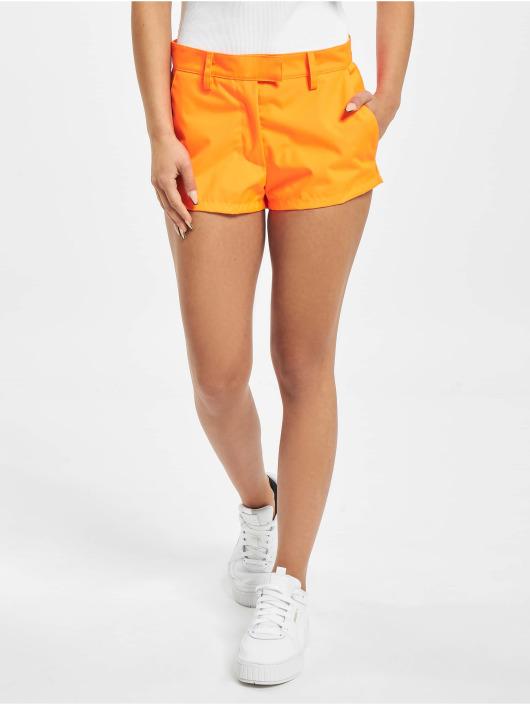 GCDS Šortky Neon oranžová