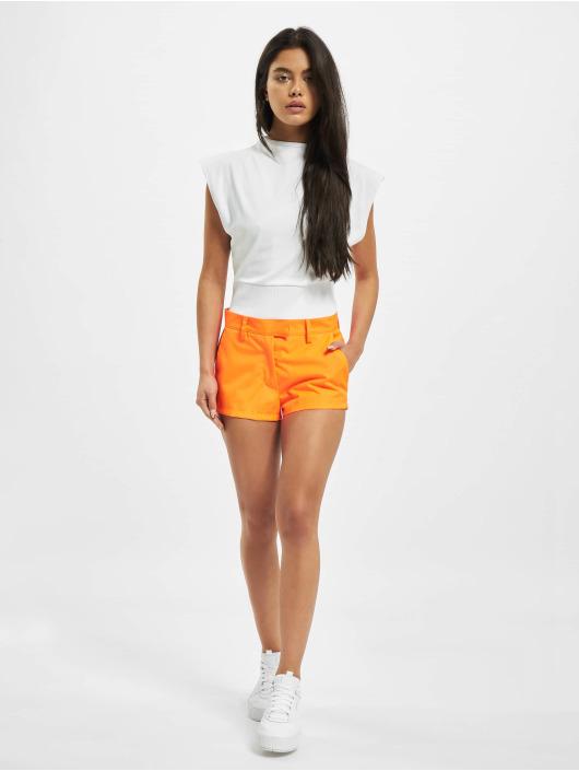 GCDS Šortky Neon oranžový