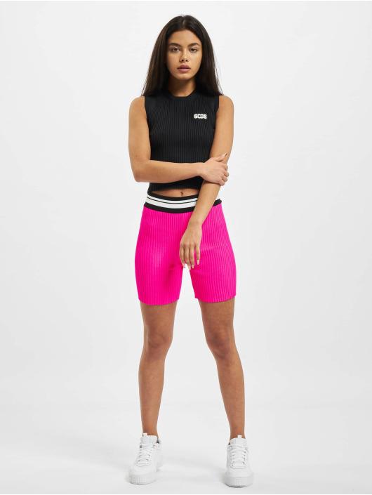 GCDS Šortky Neon pink