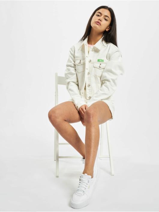 GCDS Демисезонная куртка Plain белый
