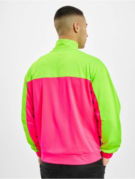 GCDS Демисезонная куртка New Track лаванда