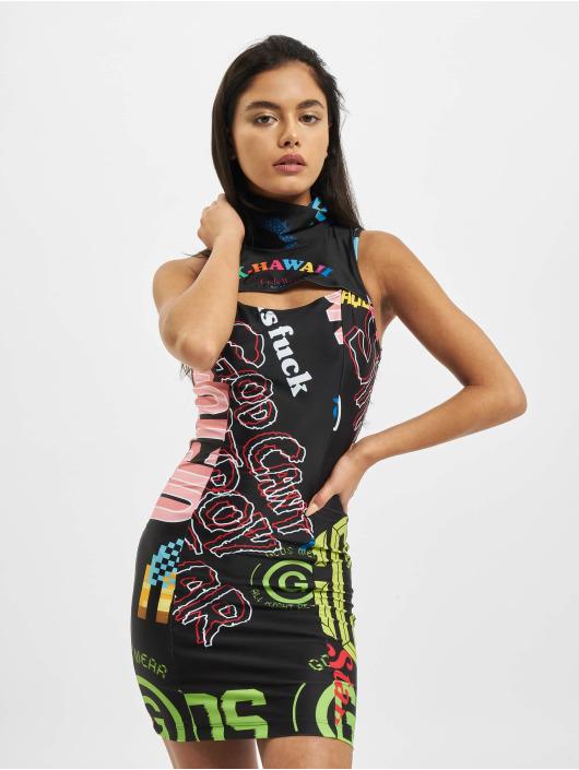 GCDS Платья K-Hawaii черный