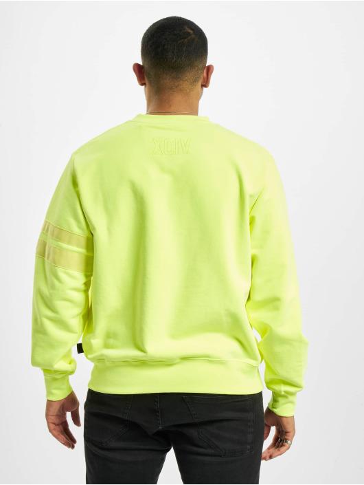 GCDS Пуловер Crewneck желтый