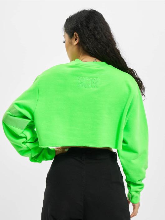 GCDS Пуловер XCIV зеленый