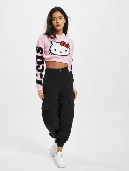 GCDS Пуловер KITTY розовый