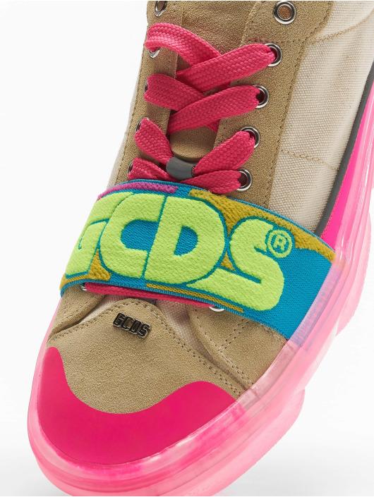 GCDS Сникеры Candy лаванда