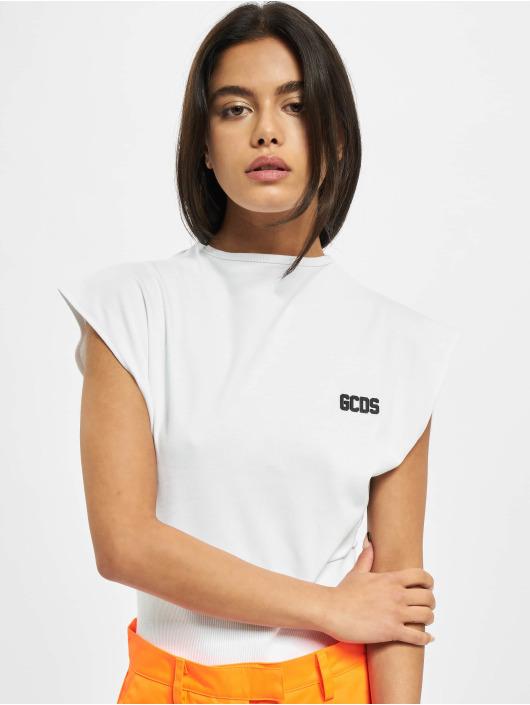 GCDS Body Basic bílý