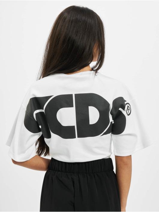 GCDS Body Logo hvit