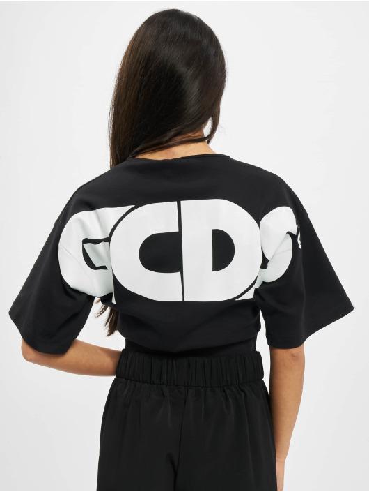 GCDS Body Logo schwarz