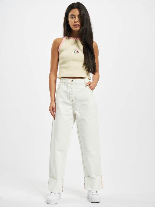 GCDS Boyfriend jeans Plain hvit