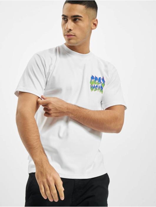 GCDS Camiseta Hot blanco
