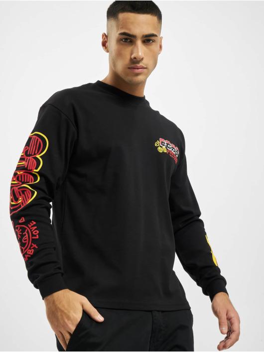 GCDS Camiseta de manga larga Kawaii Long Sleeves negro