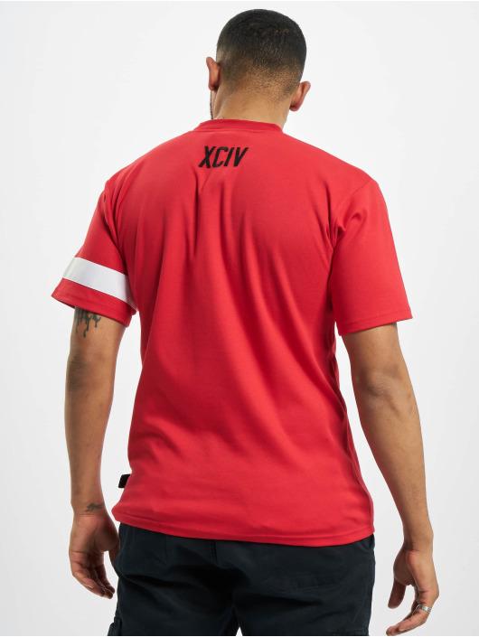 GCDS Camiseta Logo rojo