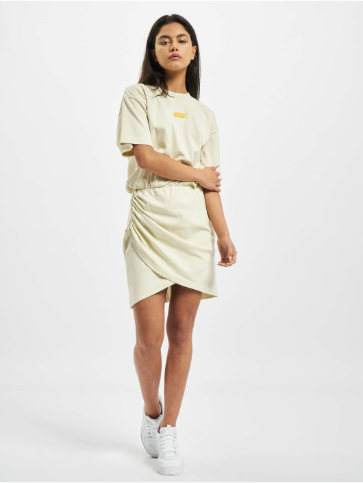 GCDS Dress WRAPPED MONSTER beige