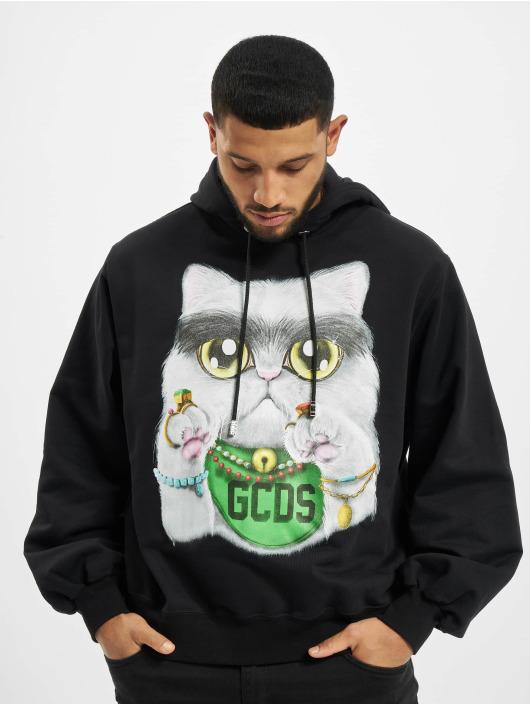 GCDS Hoodie Kittho black