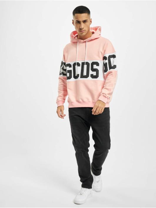 GCDS Hoody Band Logo pink