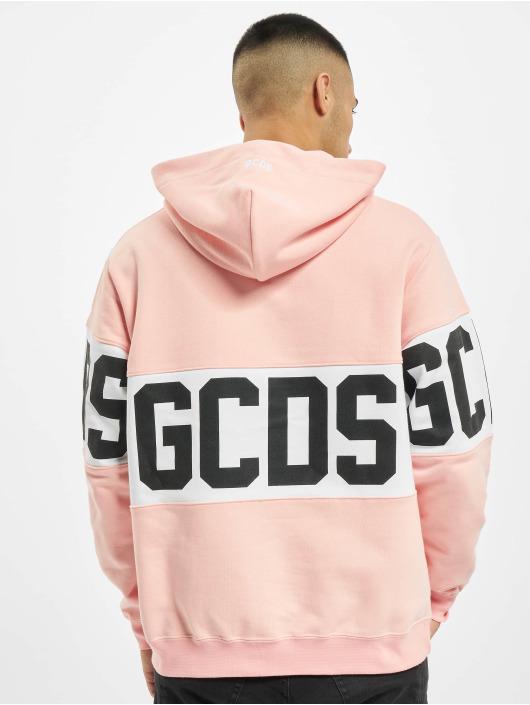 GCDS Hupparit Band Logo vaaleanpunainen