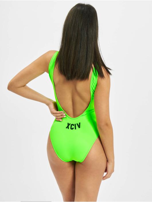GCDS Jednodílné plavky XCIV zelený