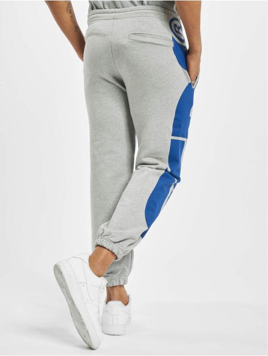 GCDS Jogging kalhoty Macro Logo šedá