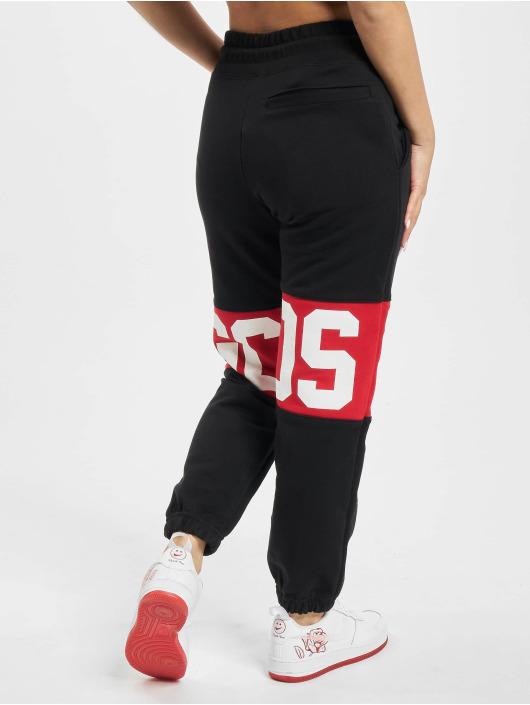 GCDS Jogginghose Logo Band schwarz