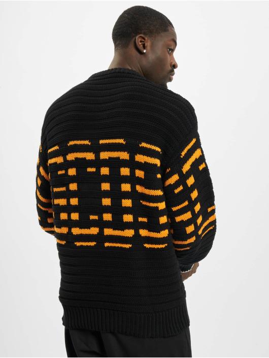 GCDS Langærmede Wool Knit sort