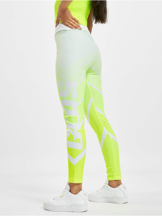 GCDS Legging Faded jaune