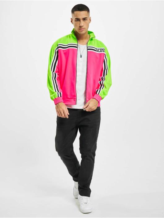 GCDS Lightweight Jacket New Track pink