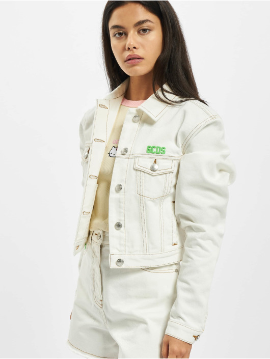 GCDS Lightweight Jacket Plain white
