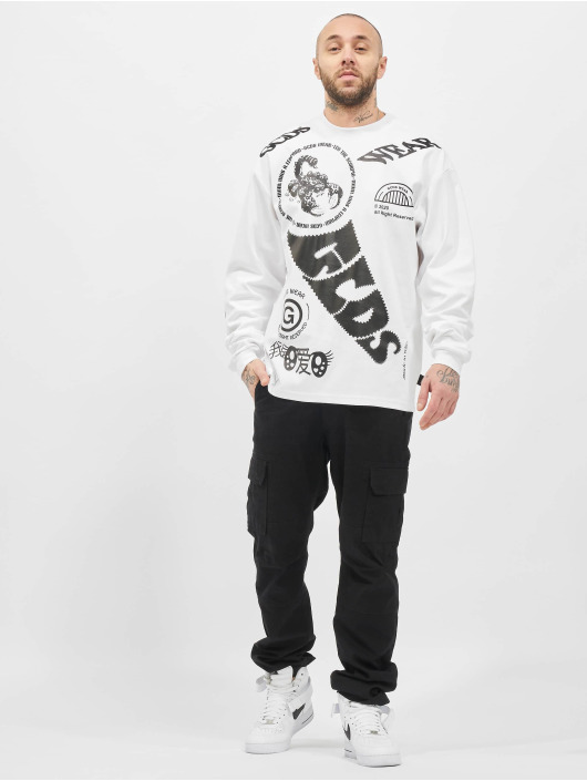 GCDS Longsleeve Elements Long weiß