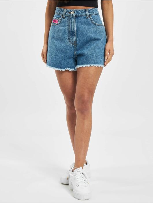 GCDS Pantalón cortos MATCHING azul