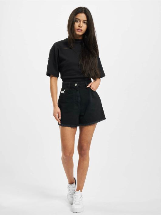 GCDS Pantalón cortos MATCHING negro