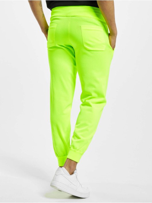 GCDS Pantalone ginnico Logo Track giallo