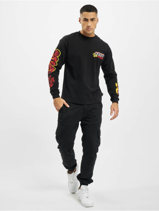 GCDS Pitkähihaiset paidat Kawaii Long Sleeves musta
