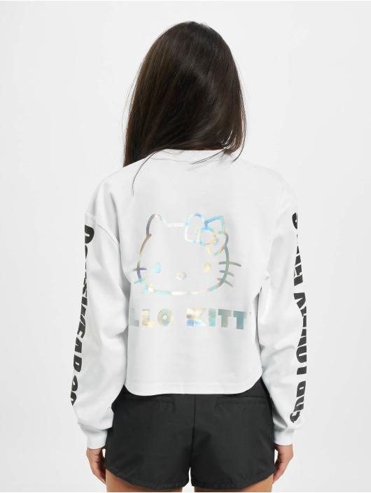 GCDS Pitkähihaiset paidat Hello Kitty valkoinen