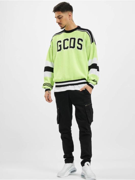 GCDS Pullover Neon gelb