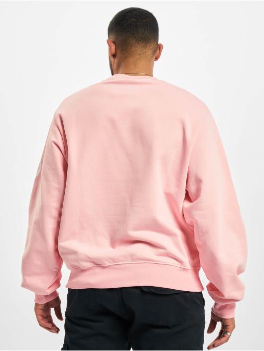 GCDS Pullover Macro Logo Round pink