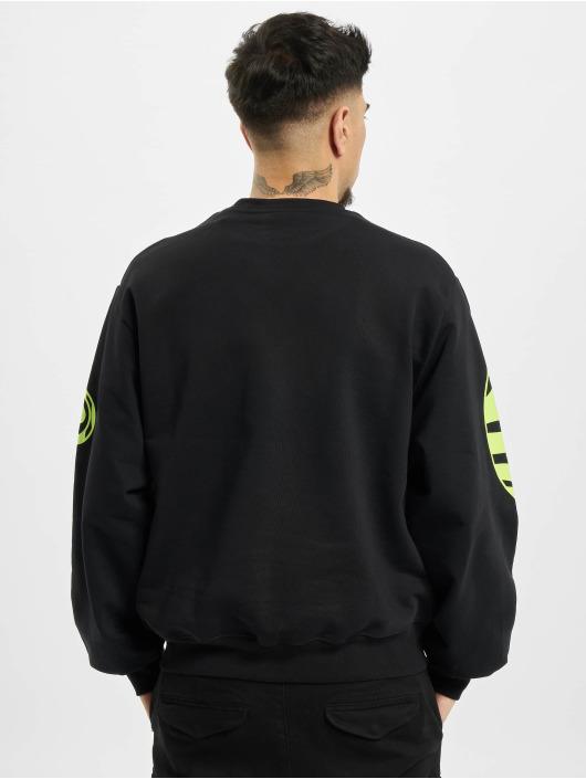 GCDS Pullover Logo schwarz