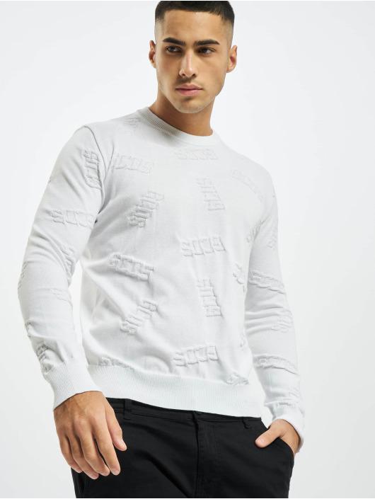 GCDS Pullover Layer weiß