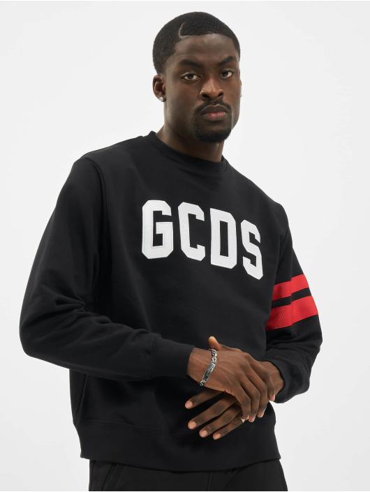 GCDS Pulóvre Logo èierna