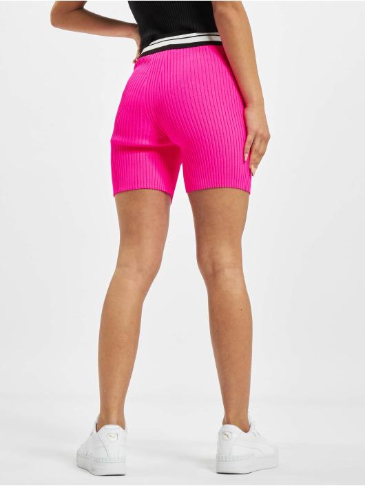 GCDS Shortsit Neon vaaleanpunainen