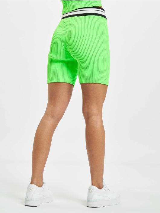GCDS Shortsit Neon vihreä