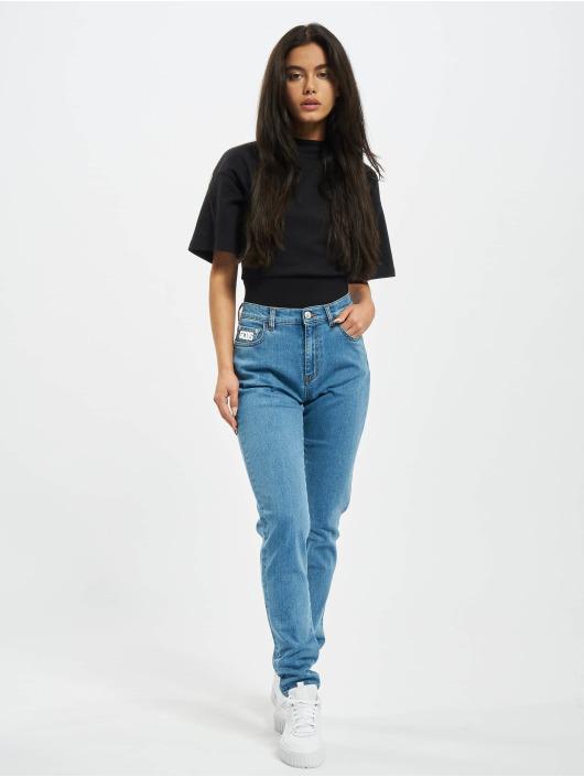 GCDS Skinny jeans Basic blauw