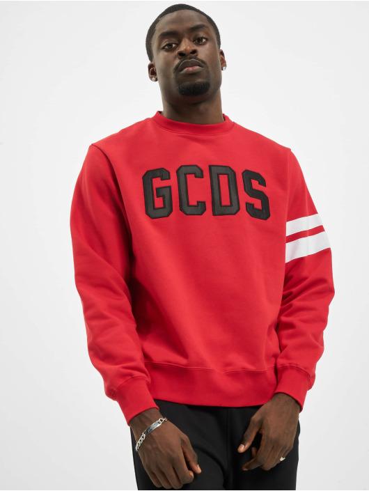 GCDS Svetry Logo červený