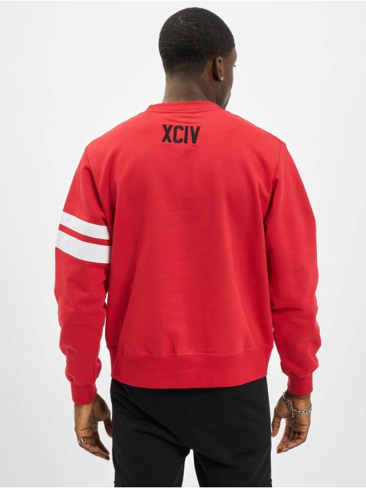 GCDS Swetry Logo czerwony