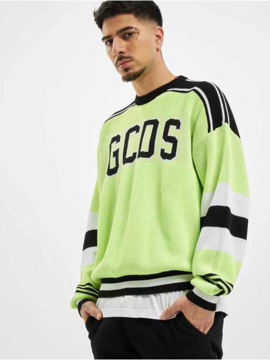 GCDS Swetry Neon zólty