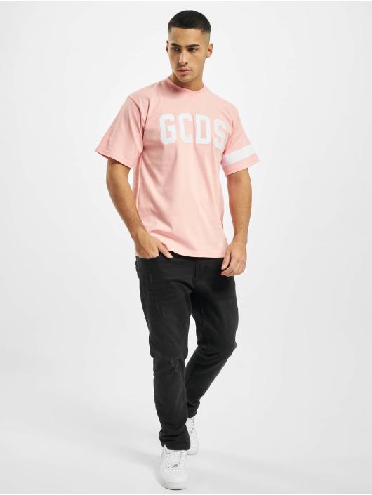 GCDS T-paidat Logo vaaleanpunainen