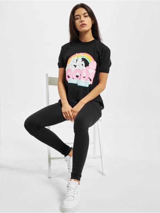 GCDS T-Shirt CLOUDY CARE BEAR black